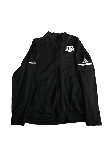 Kwame Etwi Texas A&M Team Issued Full-Zip Jacket (Size M)