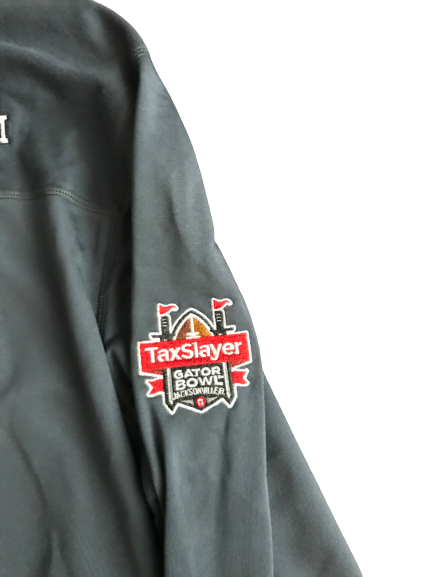 Kwame Etwi Texas A&M Team Exclusive Gator Bowl Warm-Up Jacket (Size L)