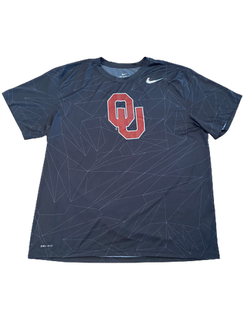 Austin Kendall Oklahoma Football College Football Playoff Player-Exclusive T-Shirt (Size XXL)