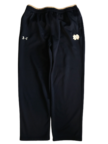 Nyles Morgan Notre Dame Team Issued Travel Sweatpants (Size XL)