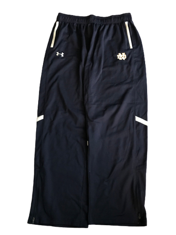 Nyles Morgan Notre Dame Team Issued Sweatpants (Size XL)