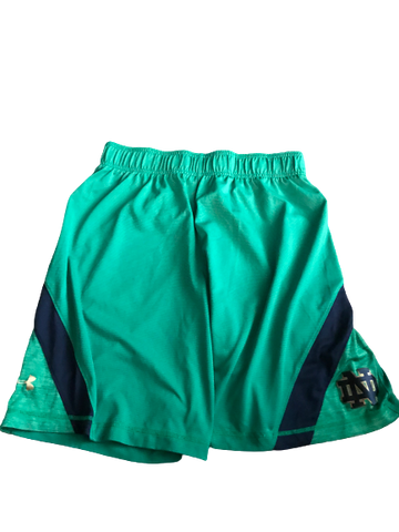 Nyles Morgan Notre Dame Team Issued Shorts (Size L)