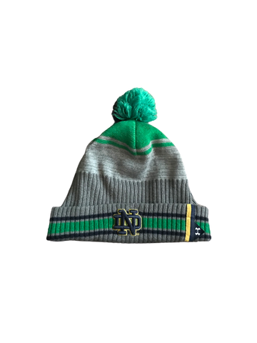 Nyles Morgan Notre Dame Team Issued Beanie Hat