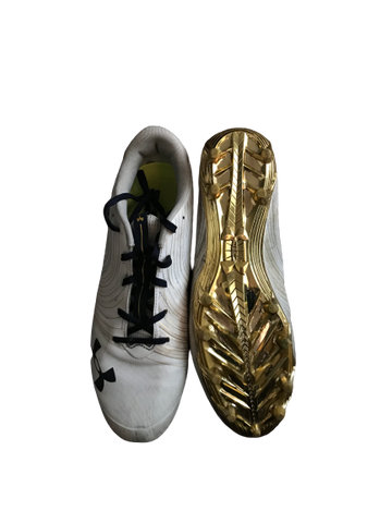 Nyles Morgan Notre Dame Team Exclusive Cleats (Size 14)