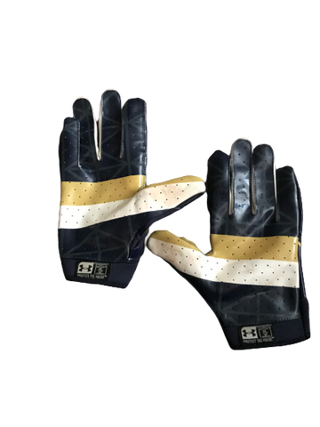 Nyles Morgan Notre Dame Team Exclusive Football Gloves