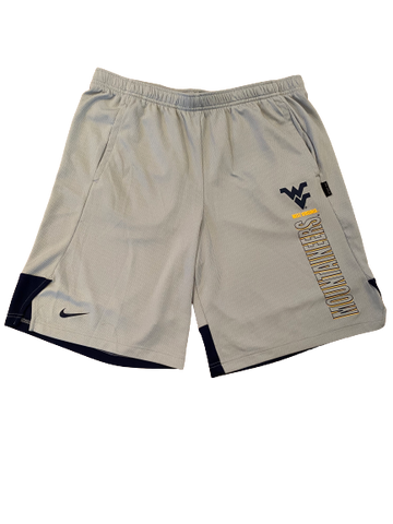 Austin Kendall West Virginia Football Nike Shorts (Size L)