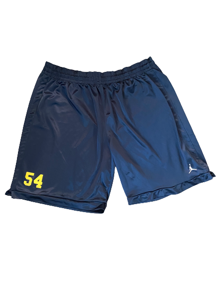 #54 Michigan Football Team Exclusive Shorts (Size XXL)