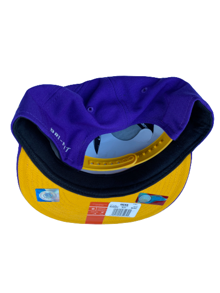 Garrett Brumfield LSU Football Team Issued Snapback Hat