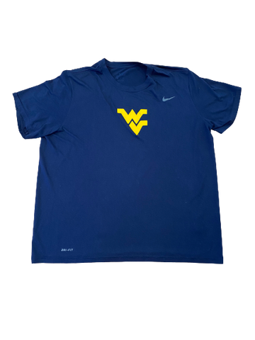 Austin Kendall West Virginia Football Nike T-Shirt (Size XXL)
