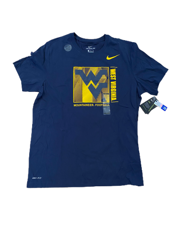 Austin Kendall West Virginia Football Nike T-Shirt (New With Tags)(Size XL)