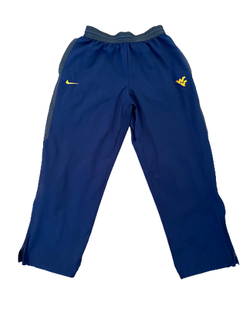 Austin Kendall West Virginia Football Nike Sweatpants (Size XL)