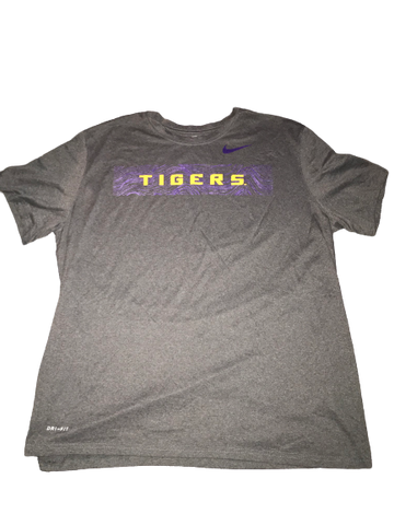 Thaddeus Moss LSU Team Issued Fiesta Bowl T-Shirt (Size XXL)