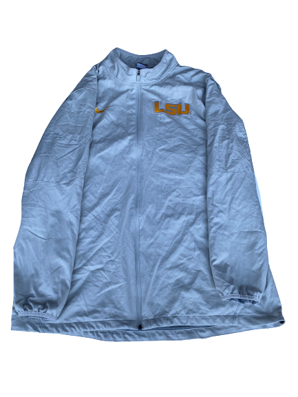 "Garrett Brumfield LSU Football Player Exclusive ""Citrus Bowl"" Jacket with Number on Back (Size XXXL)"