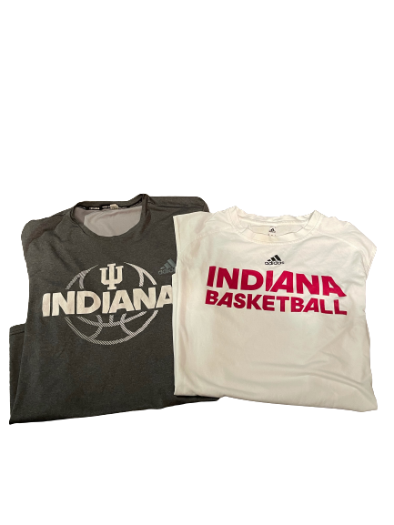 Freddie McSwain Indiana Basketball Workout Shirt & Tank