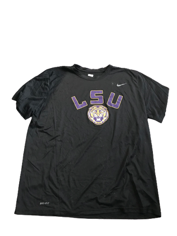 Thaddeus Moss LSU Team Issued T-Shirt (Size XXL)