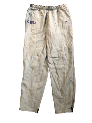 Thaddeus Moss LSU Team Issued Sweatpants (Size XXL)