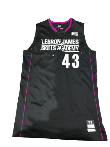 Tyler Harris LeBron James Skills Academy Game Worn Jersey (Size 52)