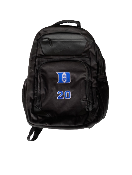 Marques Bolden Duke Team Exclusive Backpack with Number