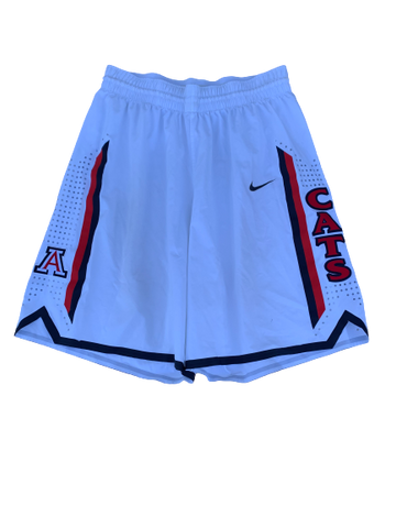 Nick Johnson Arizona Basketball 2012-2013 Season Game-Worn Shorts (Size 40)