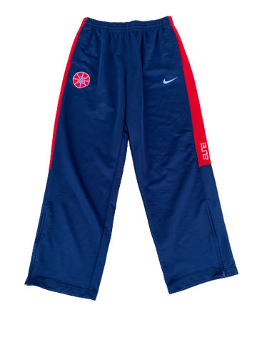 Nick Johnson Arizona Basketball Nike Sweatpants (Size XL)