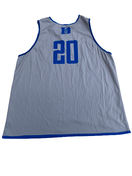 Marques Bolden Duke Basketball Reversible Practice Jersey (Size XXL)