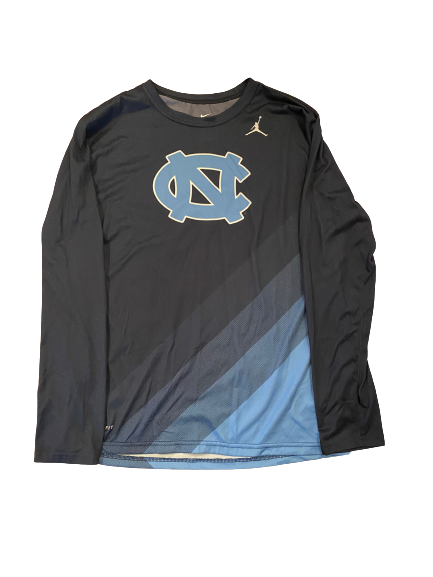 Myles Wolfolk North Carolina Football Team Issued Long Sleeve Shirt (Size L)