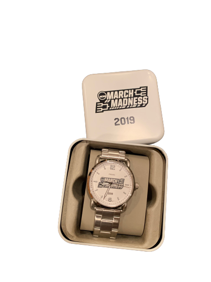 Nate Reuvers Exclusive 2021 Fossil March Madness Watch New In Box