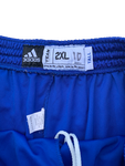 Tyshawn Taylor Kansas Adidas Workout Shorts (Size XXLT)