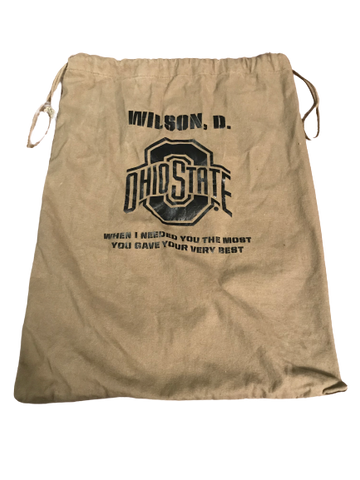 Dontre Wilson Ohio State Team Issued Bag