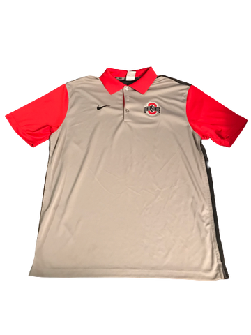 Dontre Wilson Ohio State Team Issued Polo Shirt (Size L)