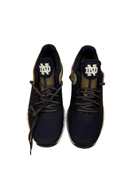 John Mahoney Notre Dame Football Team Issued Training Shoes (Size 12)