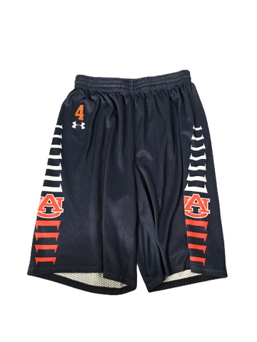 Chuma Okeke Auburn Basketball Practice Shorts With Number (Size L)