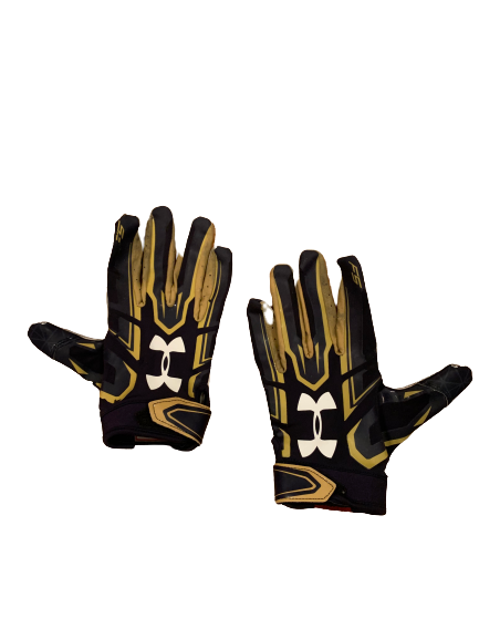John Mahoney Notre Dame Football Team Exclusive Football Gloves