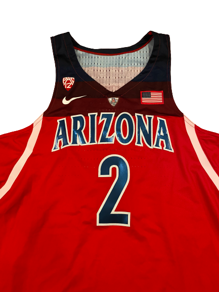 Chase Jeter Arizona Basketball 2016-2017 Season Signed Game-Worn Jersey (Size 48 Length +4)