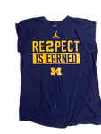 Charles Matthews Michigan Basketball Team Issued T-Shirt (Size L)