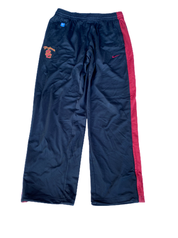 Byron Wesley USC Team Issued Sweatpants (Size XL)