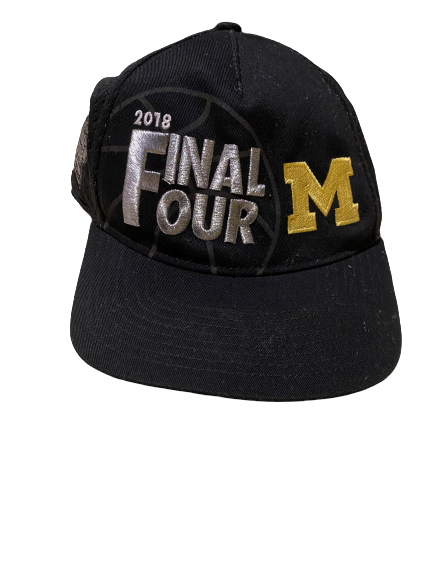 Charles Matthews Michigan Player Issued Final Four Hat