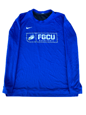 Tracy Hector Florida Gulf Coast Team Issued Shooting Shirt (Size L)