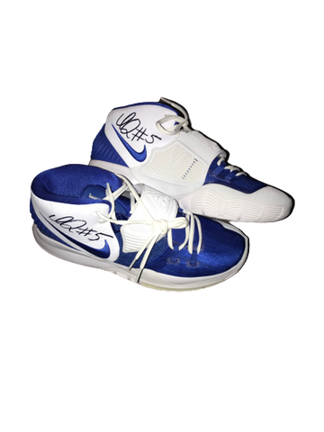 Immanuel Quickley Kentucky SIGNED Team Issued Kyrie Irving Shoes (Size 13)