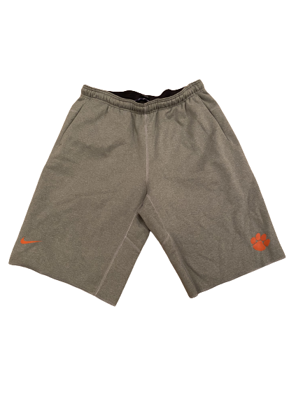 Shaq Smith Clemson Football Nike Sweat Shorts (Size XL)