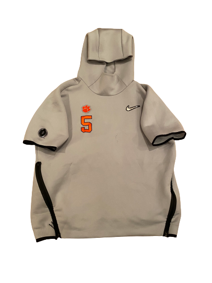 Shaq Smith Clemson Football Player-Exclusive College Football Playoff Short-Sleeve Hoodie (Size XL)