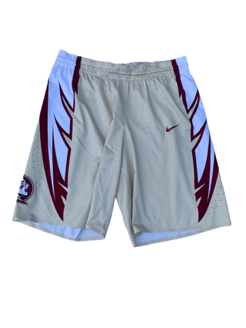Trent Forrest Florida State Basketball 2016-2017 Season Game-Worn Shorts (Size 40)
