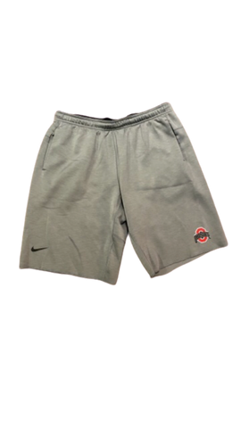 Rashod Berry Ohio State Team Issued Sweat Shorts (Size XL)