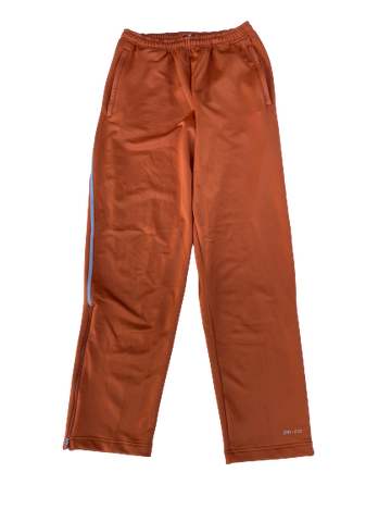 Dylan Haines Texas Football Team Issued Travel Sweatpants (Size L)