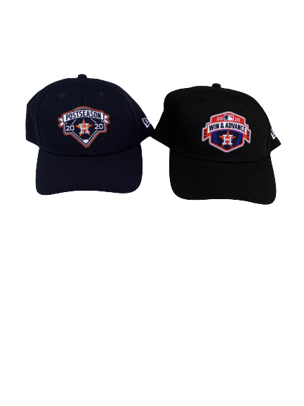 (2) Nick Tanielu Houston Astros 2020 Postseason Adjustable Hats