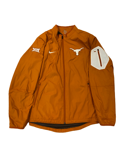 Ty Culbreth Texas Baseball Team Issued Full-Zip Travel Jacket (Size XL)