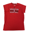K.J. McDaniels Houston Rockets Adidas Workout Shirt (Size XLT)