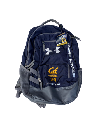Bailee Huizenga California Volleyball Backpack With Number and Team Tag