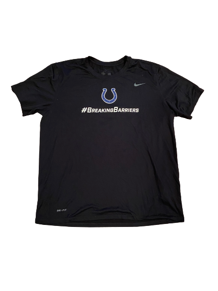 "Jonas Griffith Indianapolis Colts Team Exclusive ""Breaking Barriers"" T-Shirt (Size XL)"