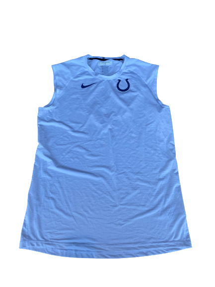 "Jonas Griffith Indianapolis Colts Team Issued ""On Field"" Workout Tank (Size XL)"